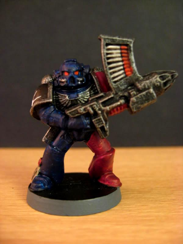 Rocket Launcher, Space Crusade, Space Marines