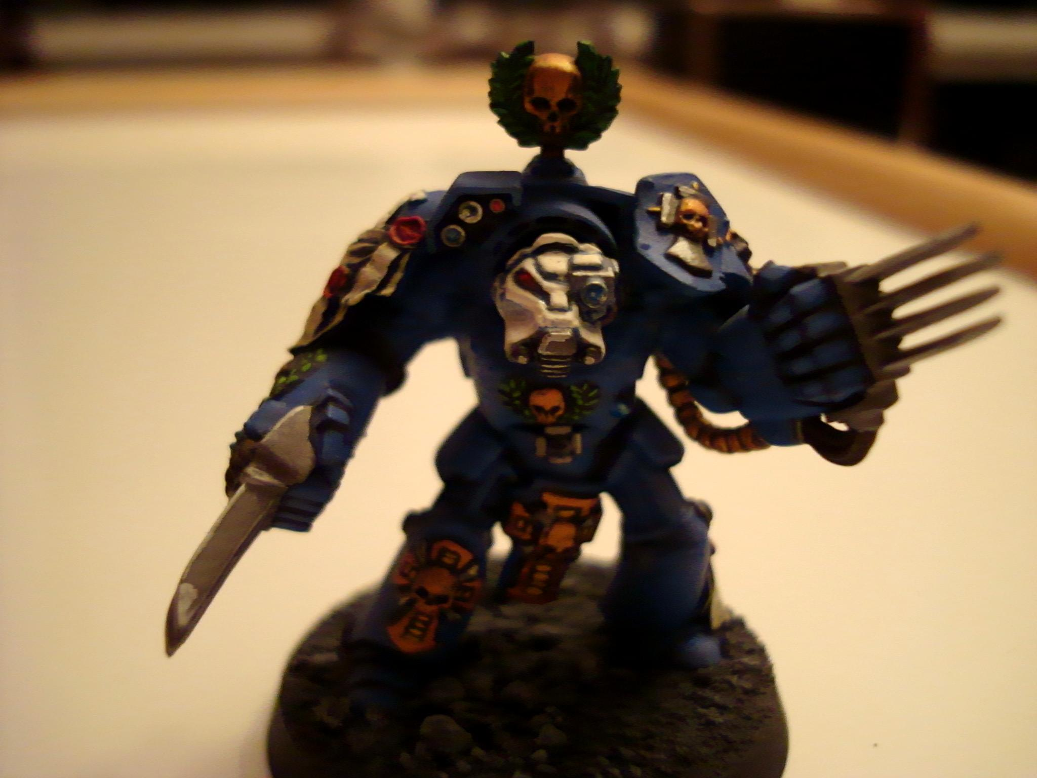 Close Combat, Lightning Claws, Terminator Armor, Thunderhammer And Storm Sheild, Ultramarines