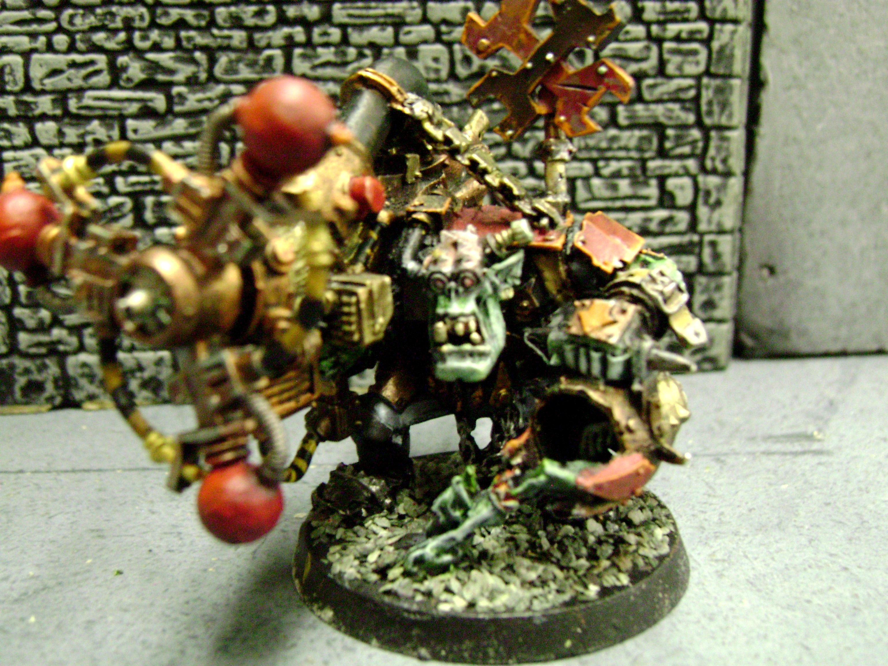 Orks, Big Meg with Shock Attack Gun