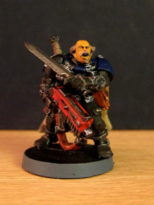 Bolter, Captain, Combat Knife, Master, Scouts
