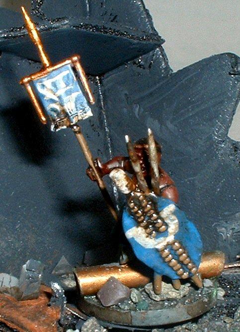 Imperial Guard, Standard Bearer, Wargames Factory, Warhammer 40,000, Zulu, Zulus