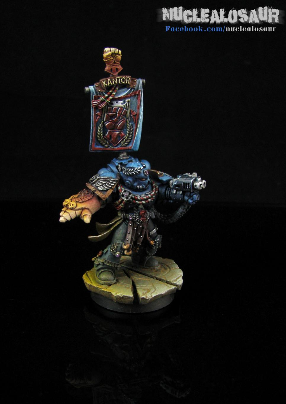 Chapter Master, Crimson Fists, Pedro Kantor, Space Marines