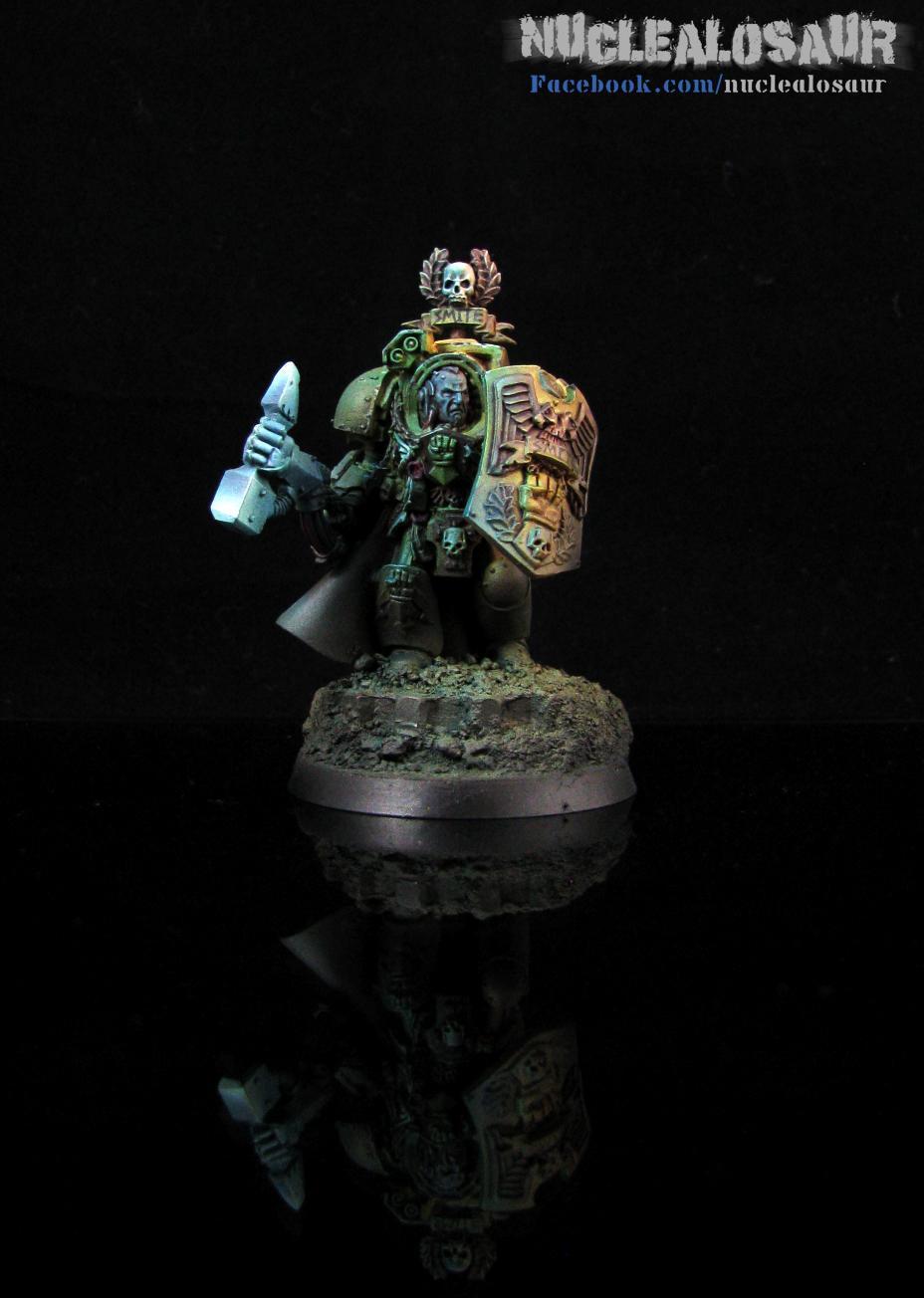 Hammer, Object Source Lighting, Shield, Terminator Armor