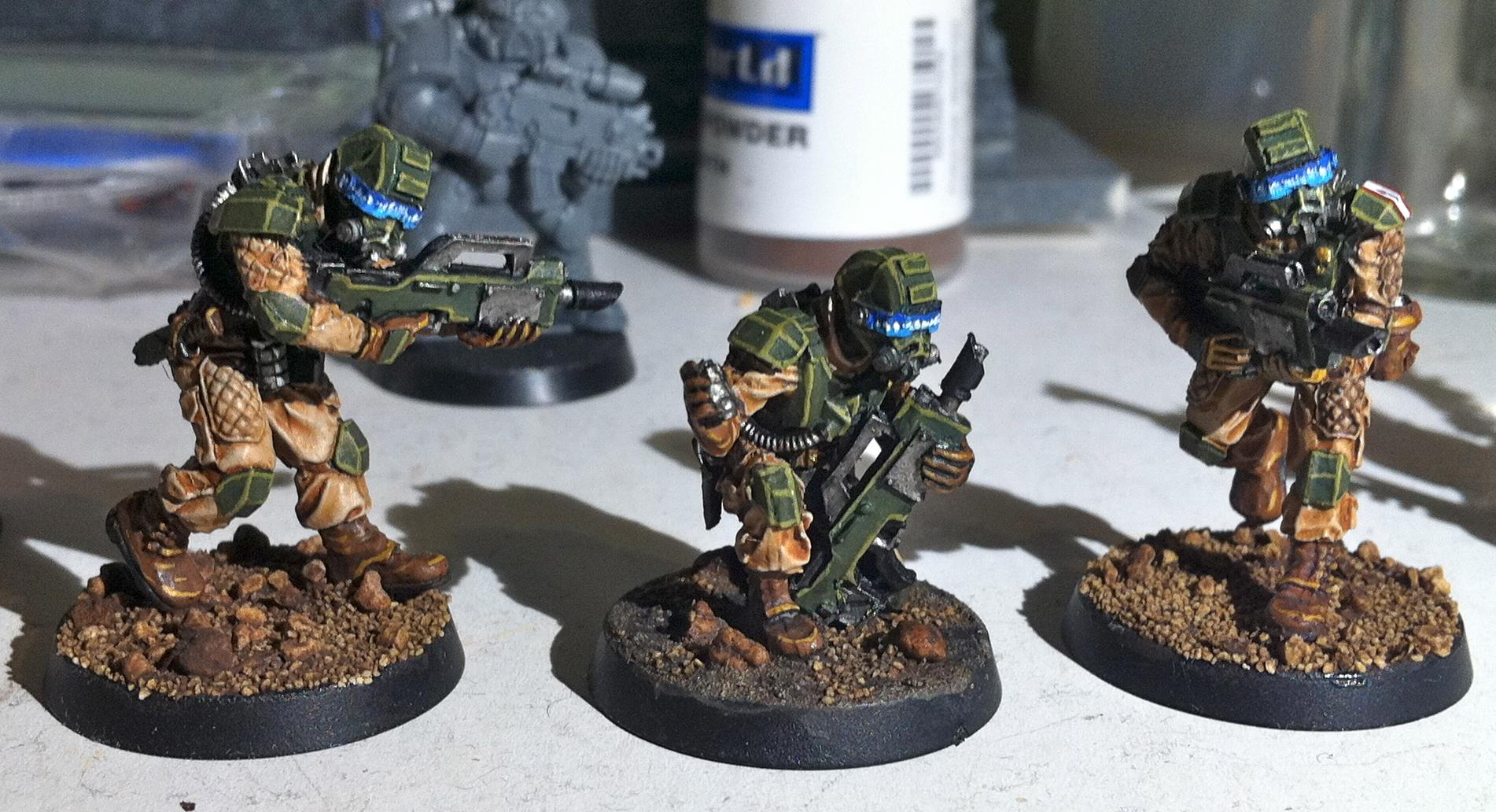 Drop Troops, Elysian, Forge World, Imperial Guard