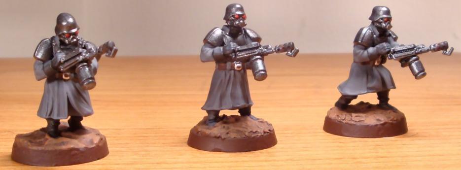 Greatcoats, Imperial Guard, Shock Troops, Wargames Factory, Warhammer 40,000
