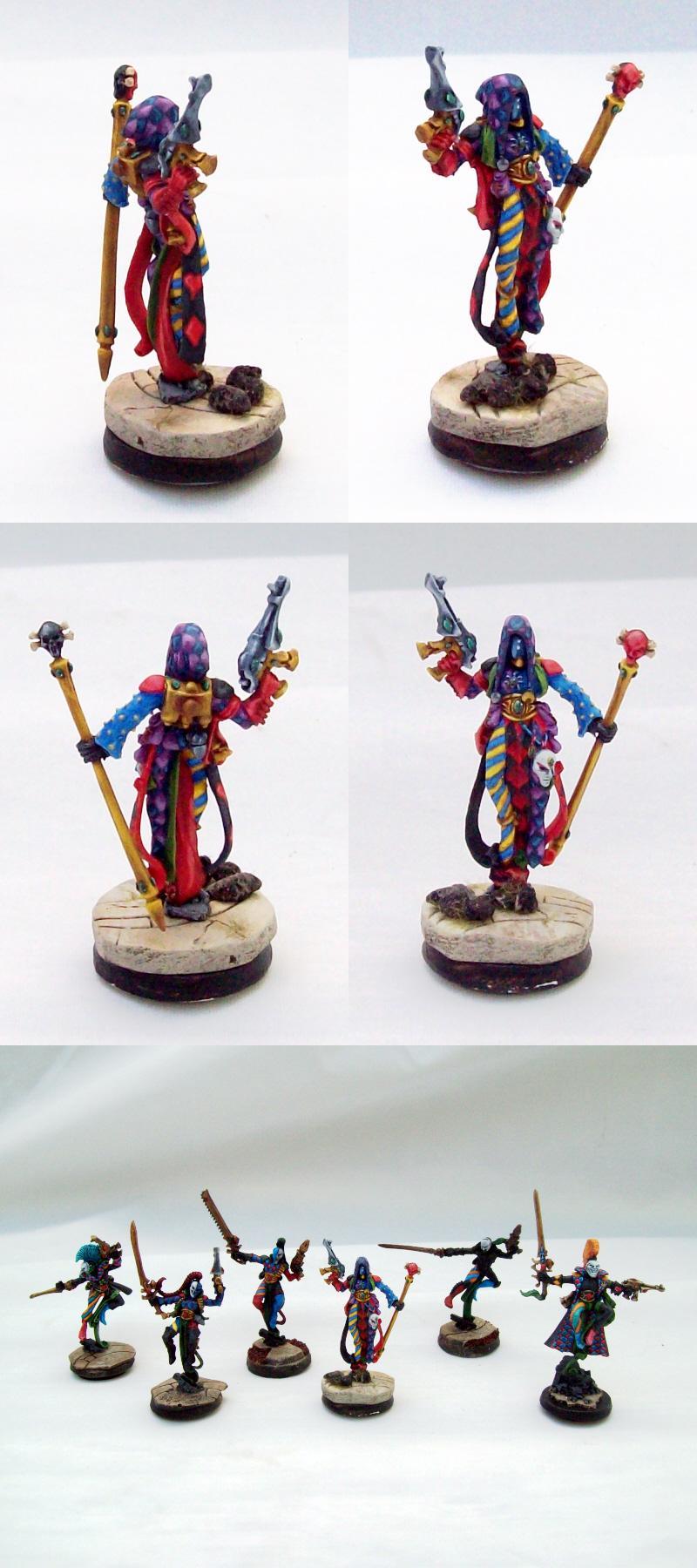 Eldar, Harlequins, Troupe, Warhammer 40,000, Warhammer Fantasy