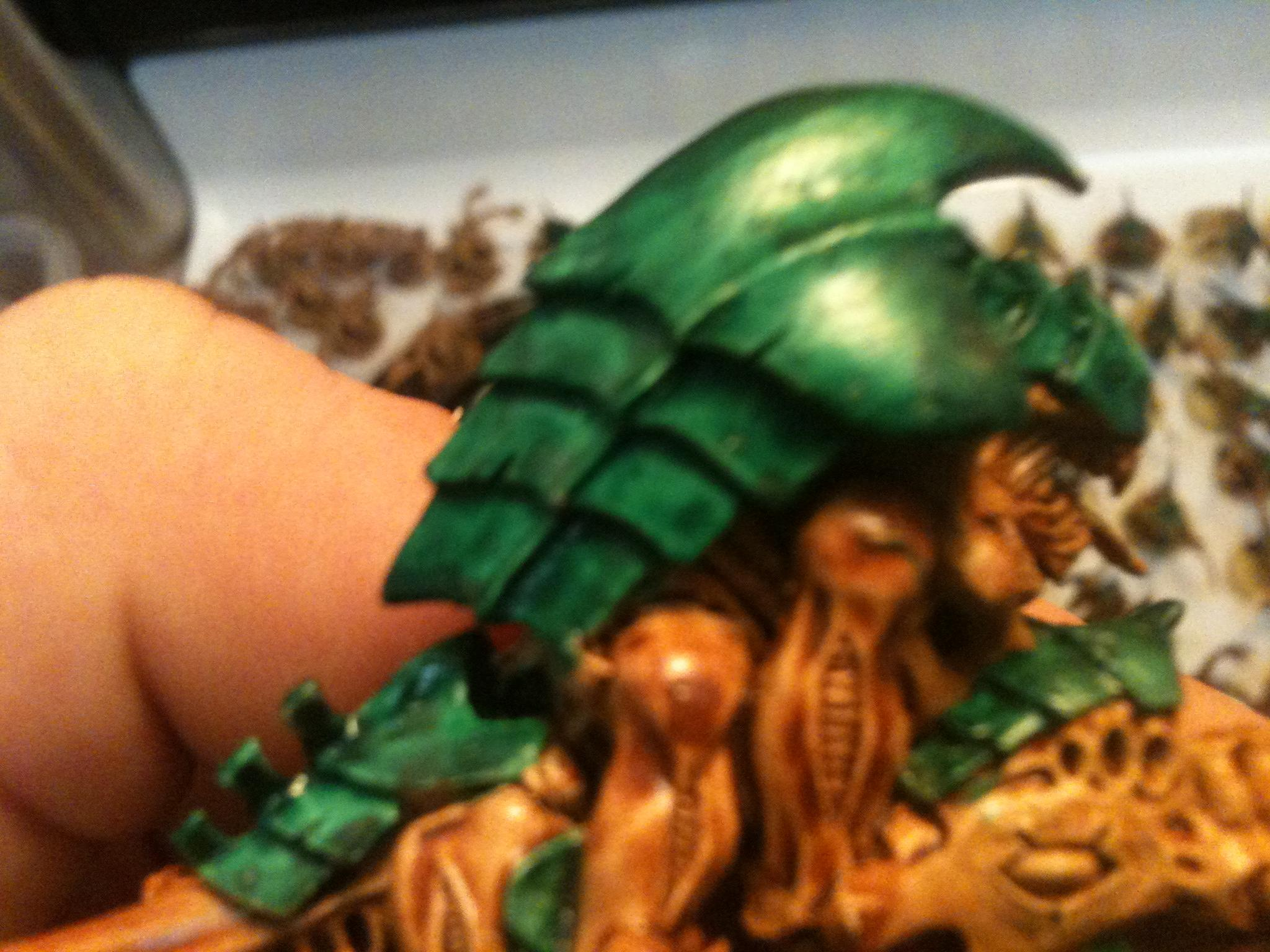 Here it is on a hive guard for more area