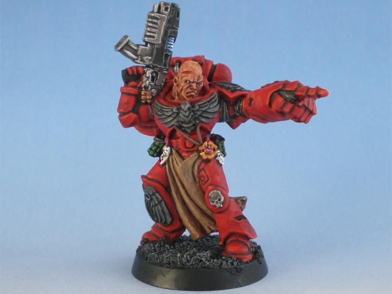 Blood Angels, Combi-plasma, Power Fist, Sergeant, Tactical Squad