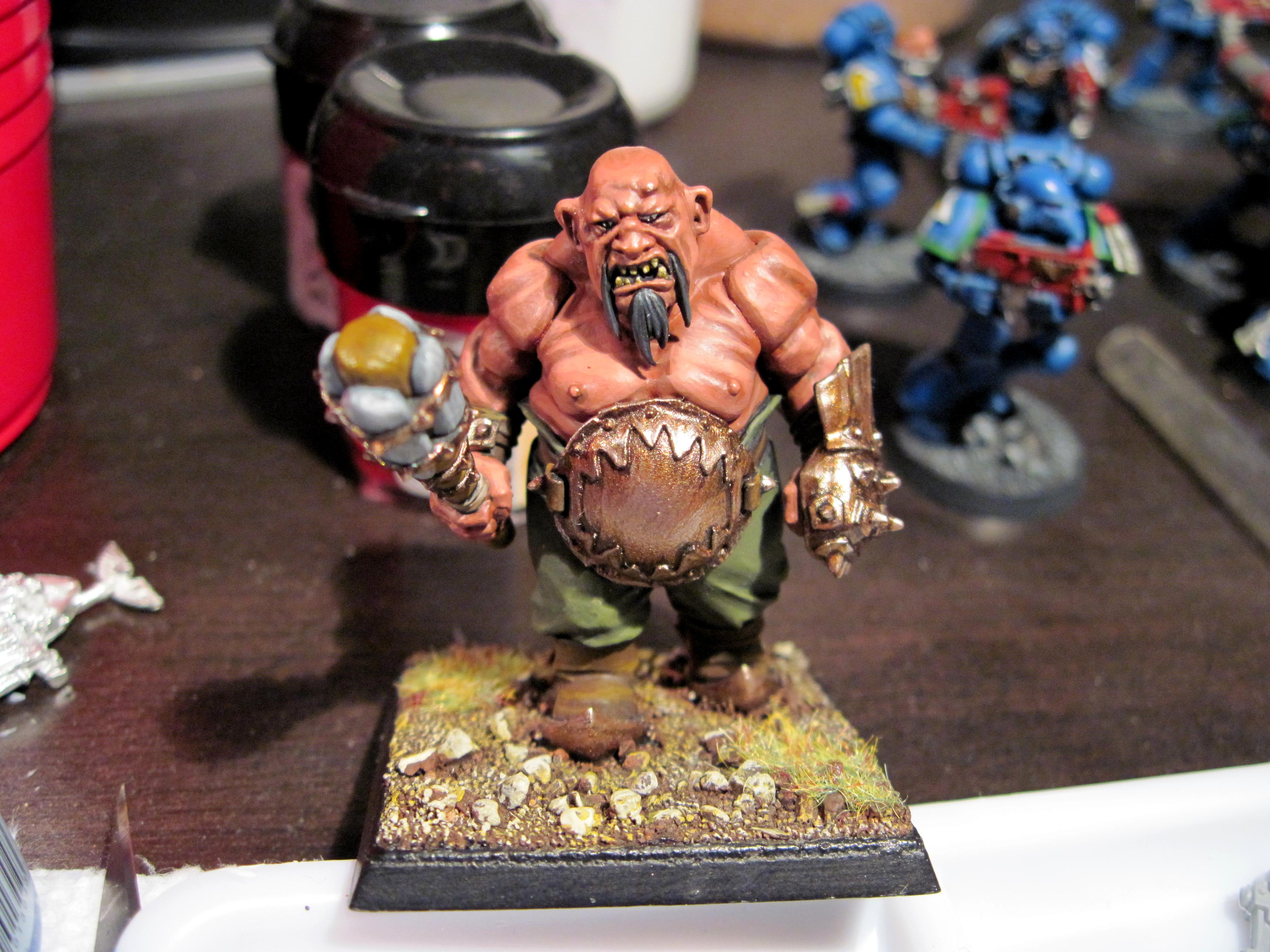 Bull, Infantry, Ogre Kingdoms, Ogres, Warhammer Fantasy