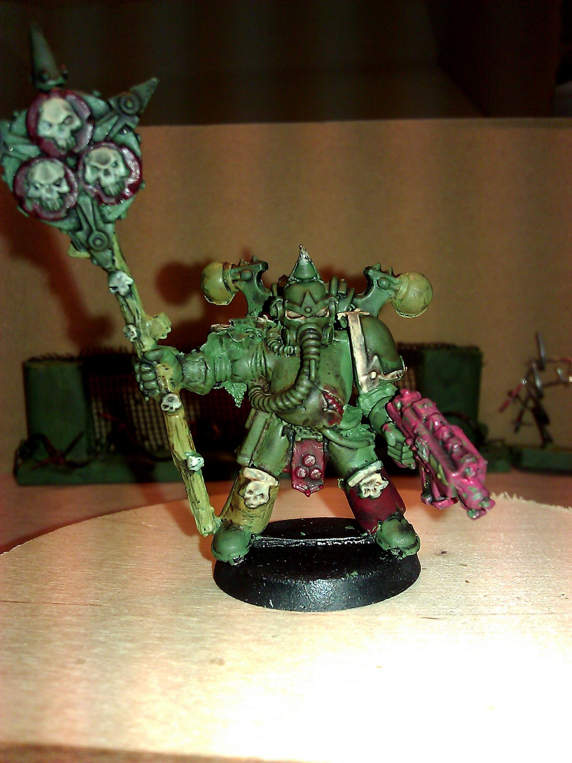 Death Gurad, First, Nurgle, Plague Marines