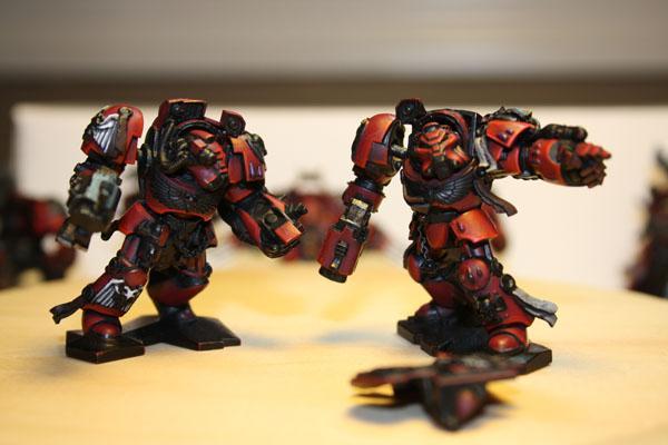 Blood Angel Space Hulk Terminators