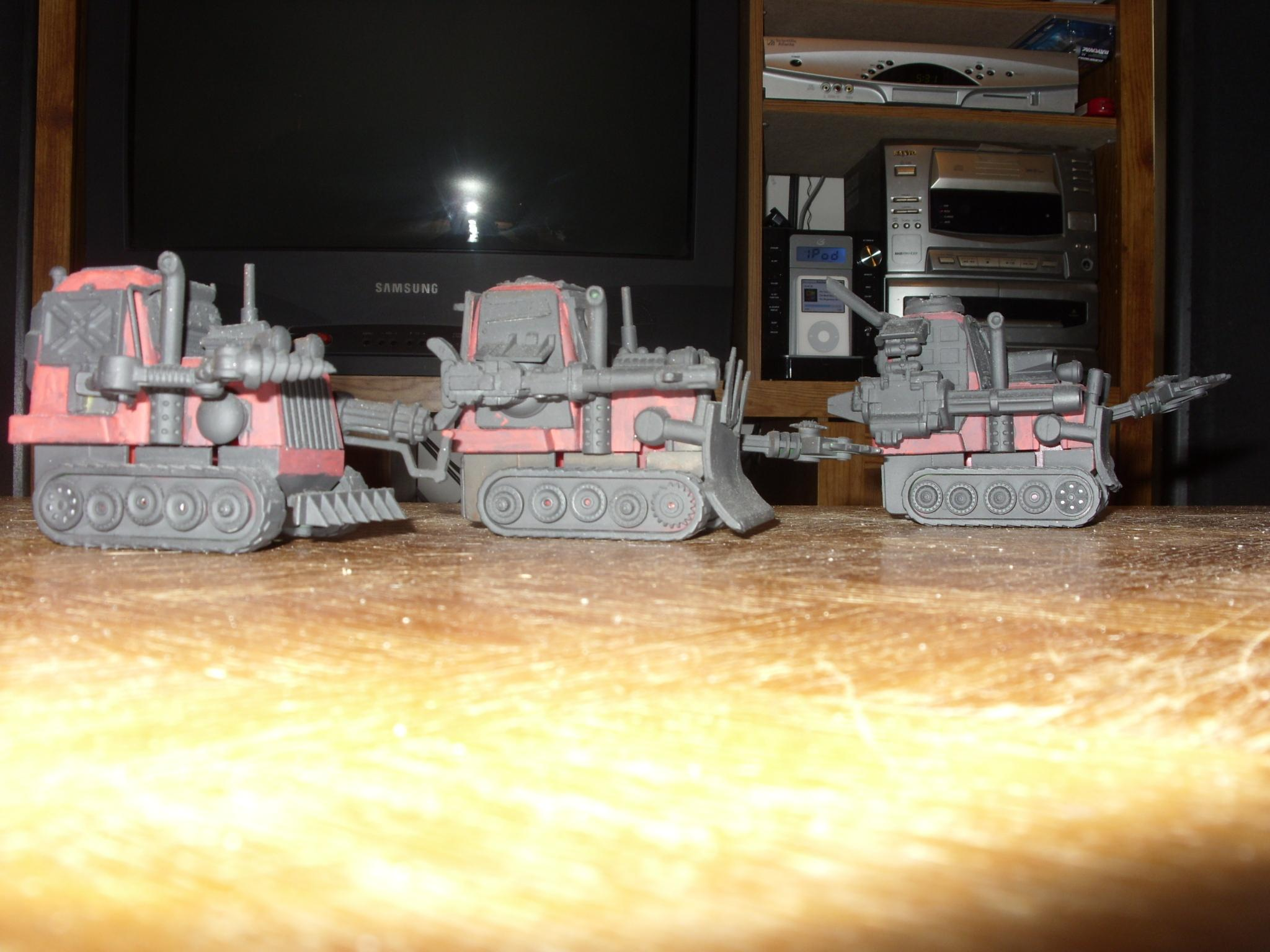 Grot Tanks, Stand in for Killer Kans 2