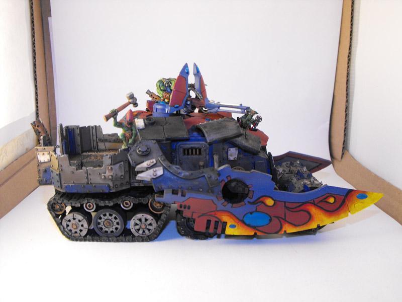 Battlewagon, Falcon, Looted Vehicle, Orks, Warhammer 40,000