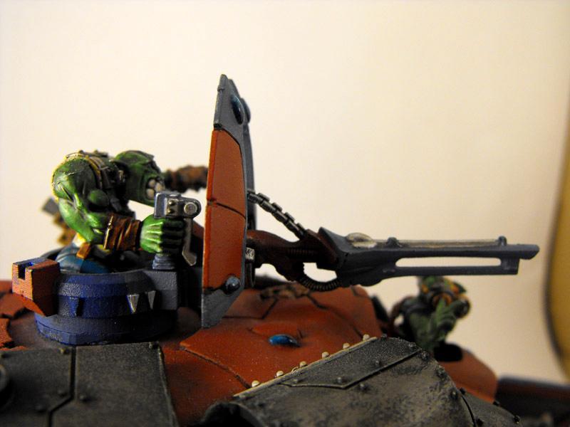Altansar, Battlewagon, Conversion, Deffskulls, Eldar, Looted, Orks, Wagon