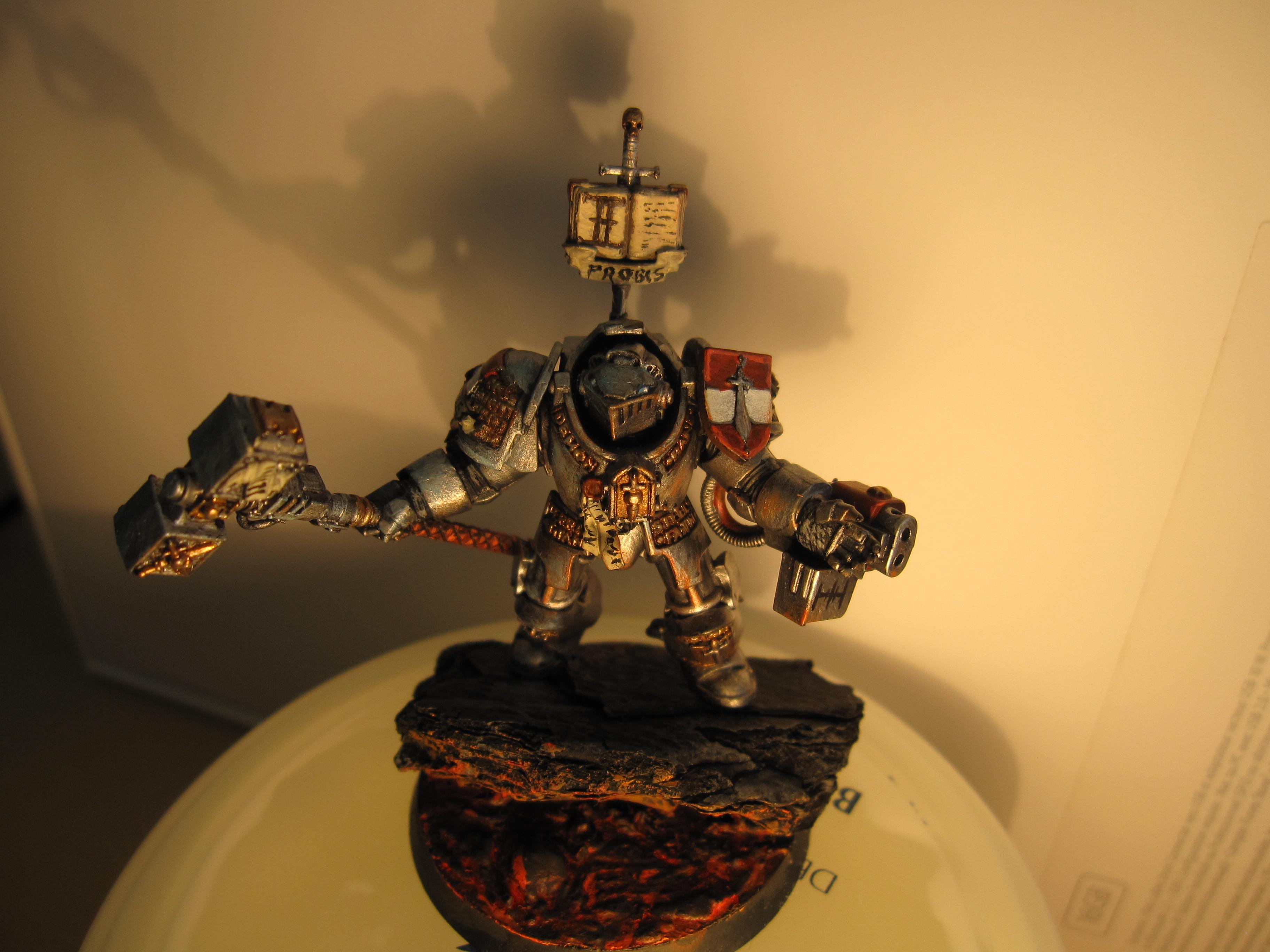 Base, Grey Knights, Inquisition, Lava, Object Source Lighting, Terminator Armor