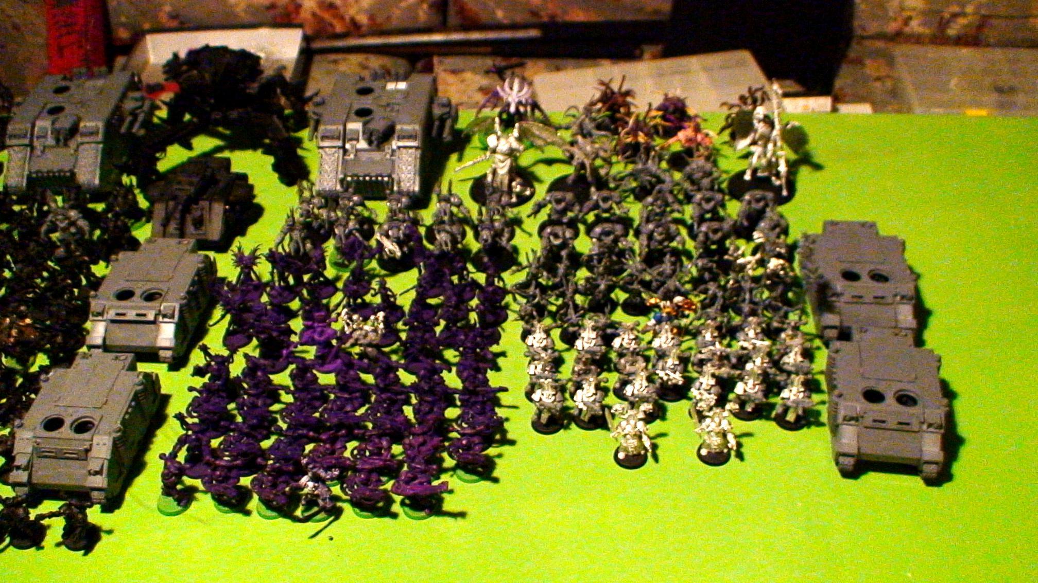 Berserkers, Black Legion, Chaos, Daeomons, Plaugue Marines, Slaanesh, Tzeench, Warhammer 40,000