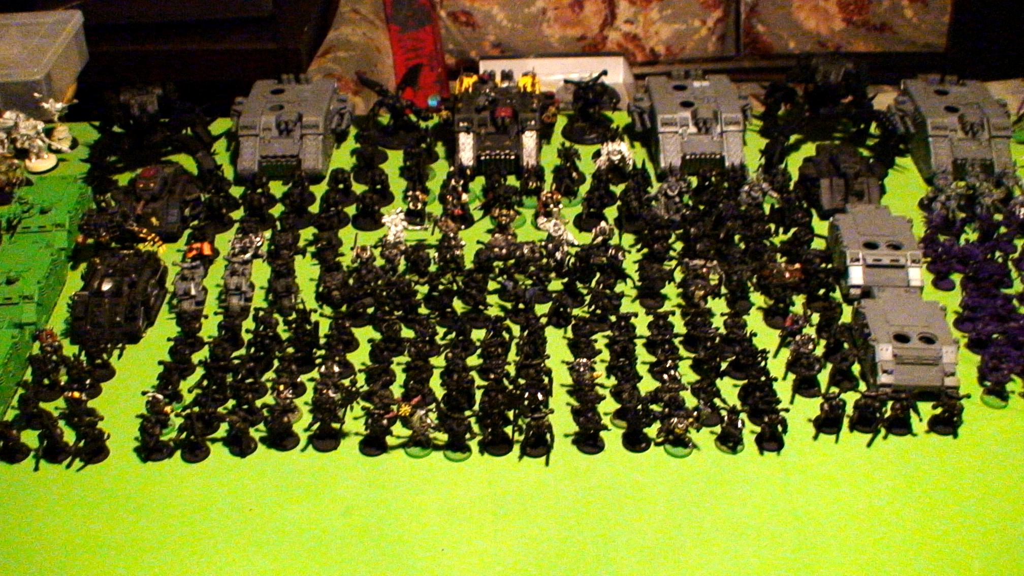 Black Legion, Chaos, Daeomons, Warhammer 40,000