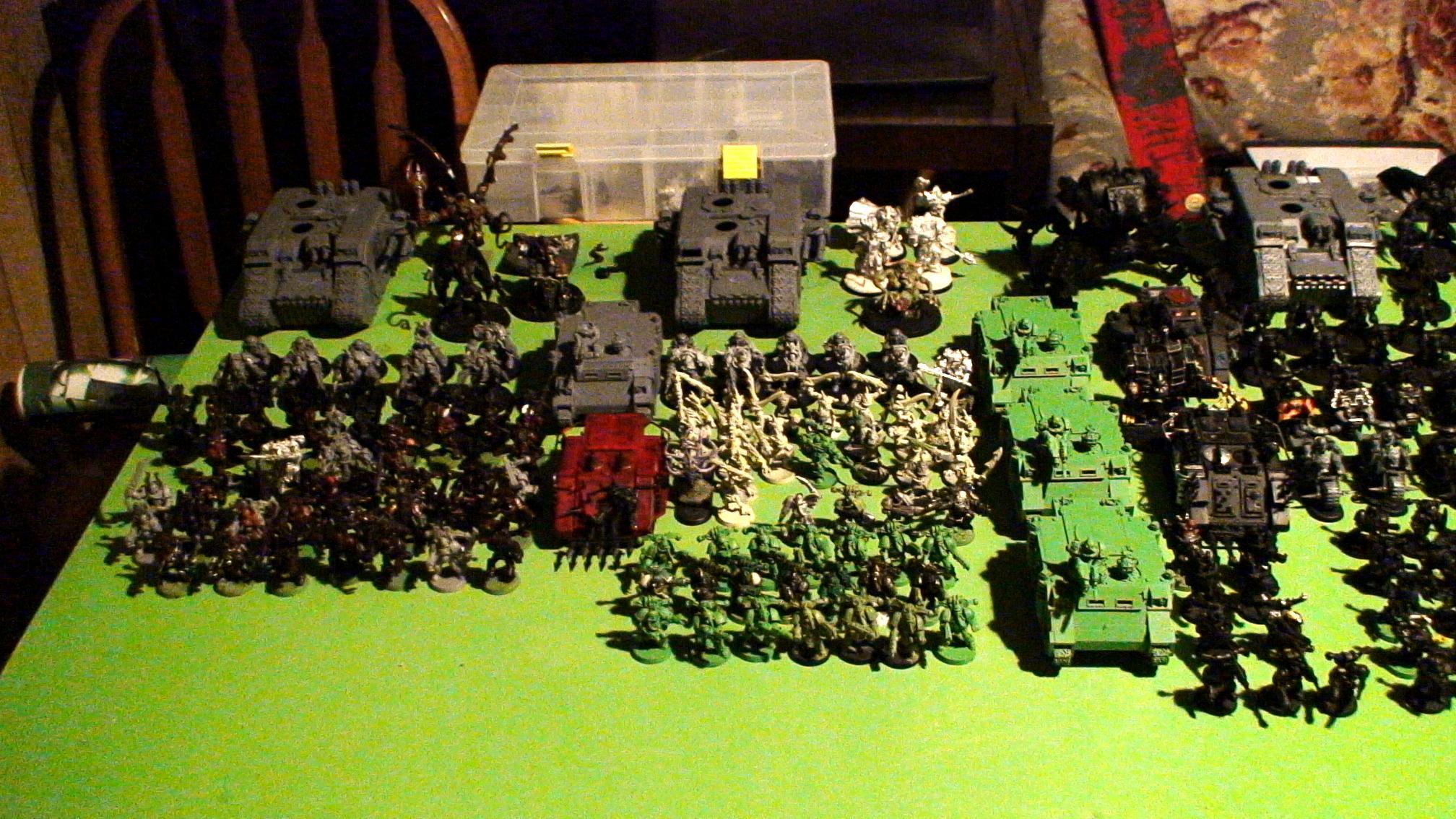 Berserkers, Black Legion, Chaos, Daeomons, Khorne, Nurgle, Plaugue Marines, Warhammer 40,000