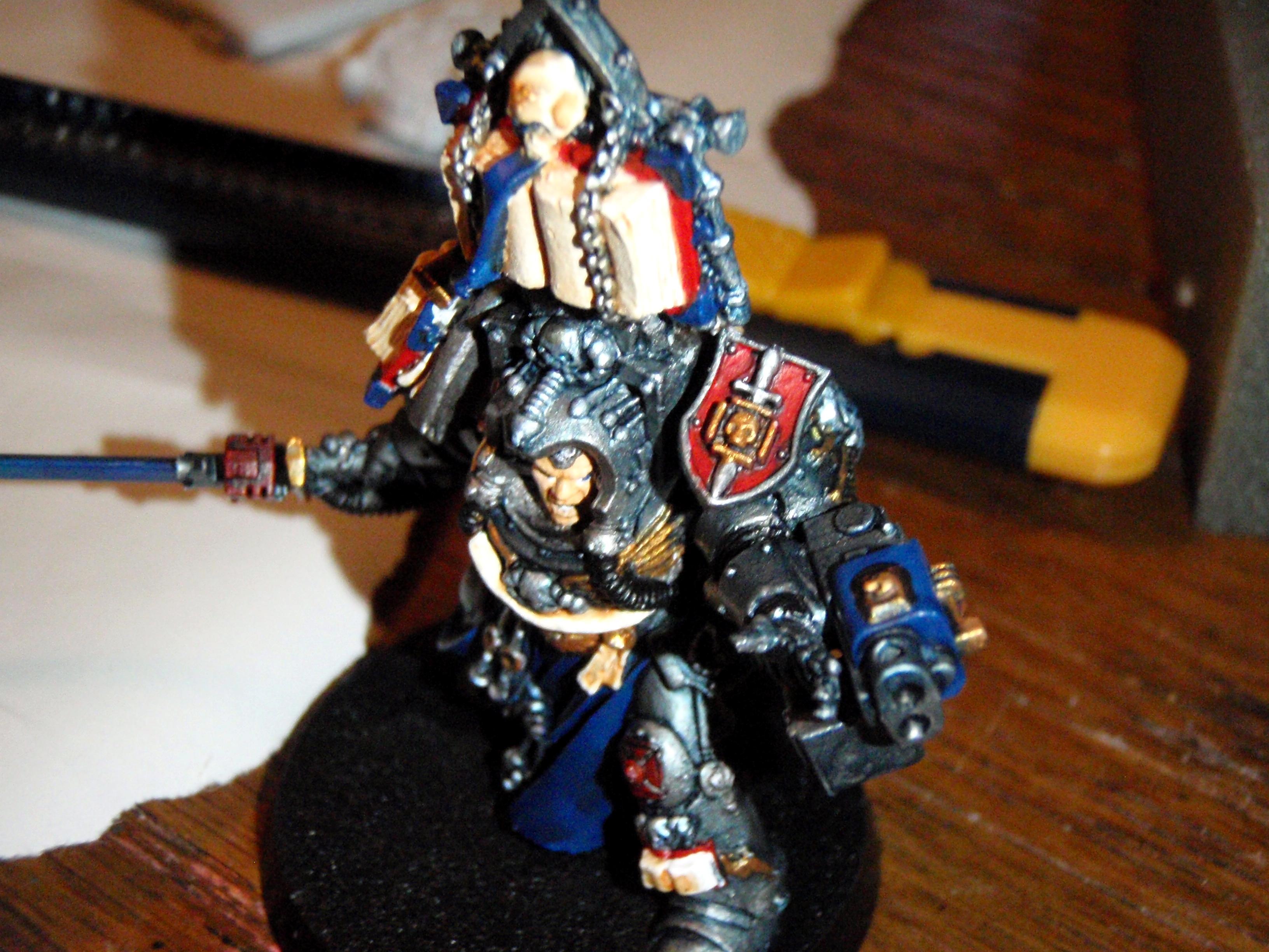 Conversion, Grey Knights, Librarian, Modification, Terminator Armor