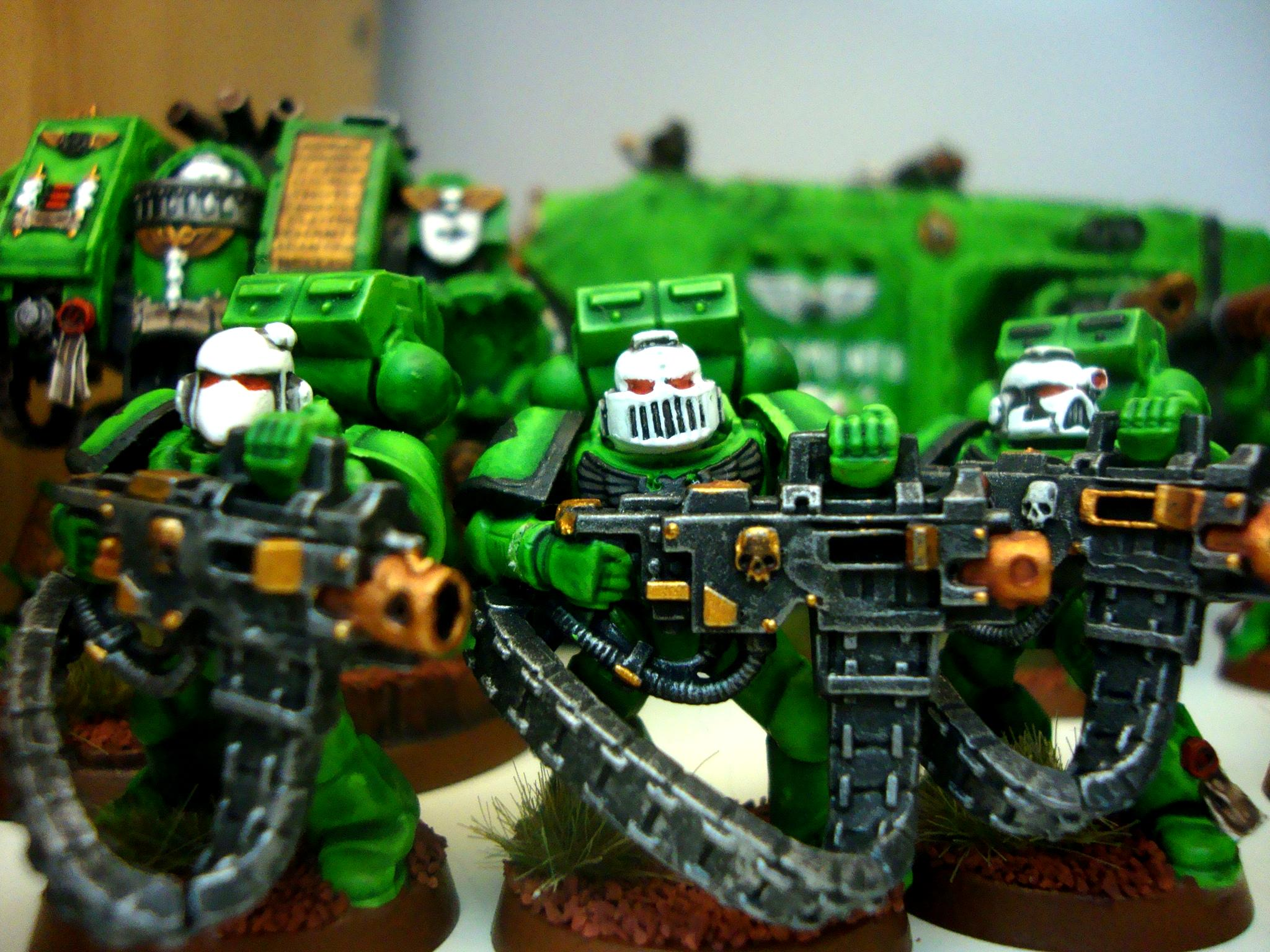 Sons Of Medusa, Space Marines, Space Marines Heavy Bolter