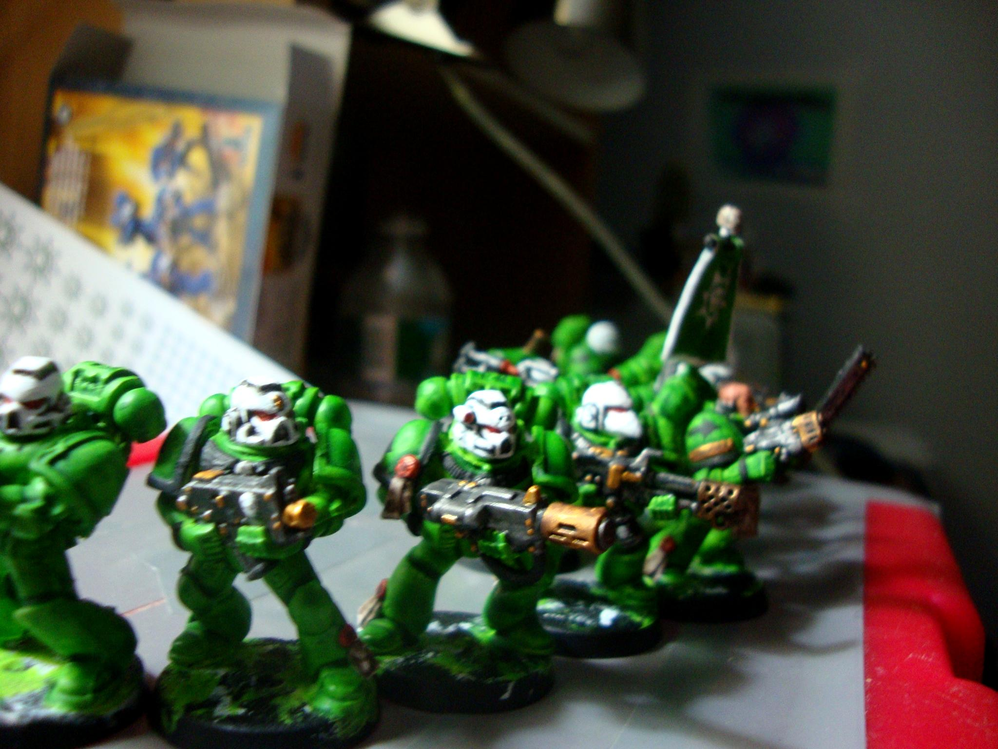 Sons Of Medusa Work In Progress Space Marine