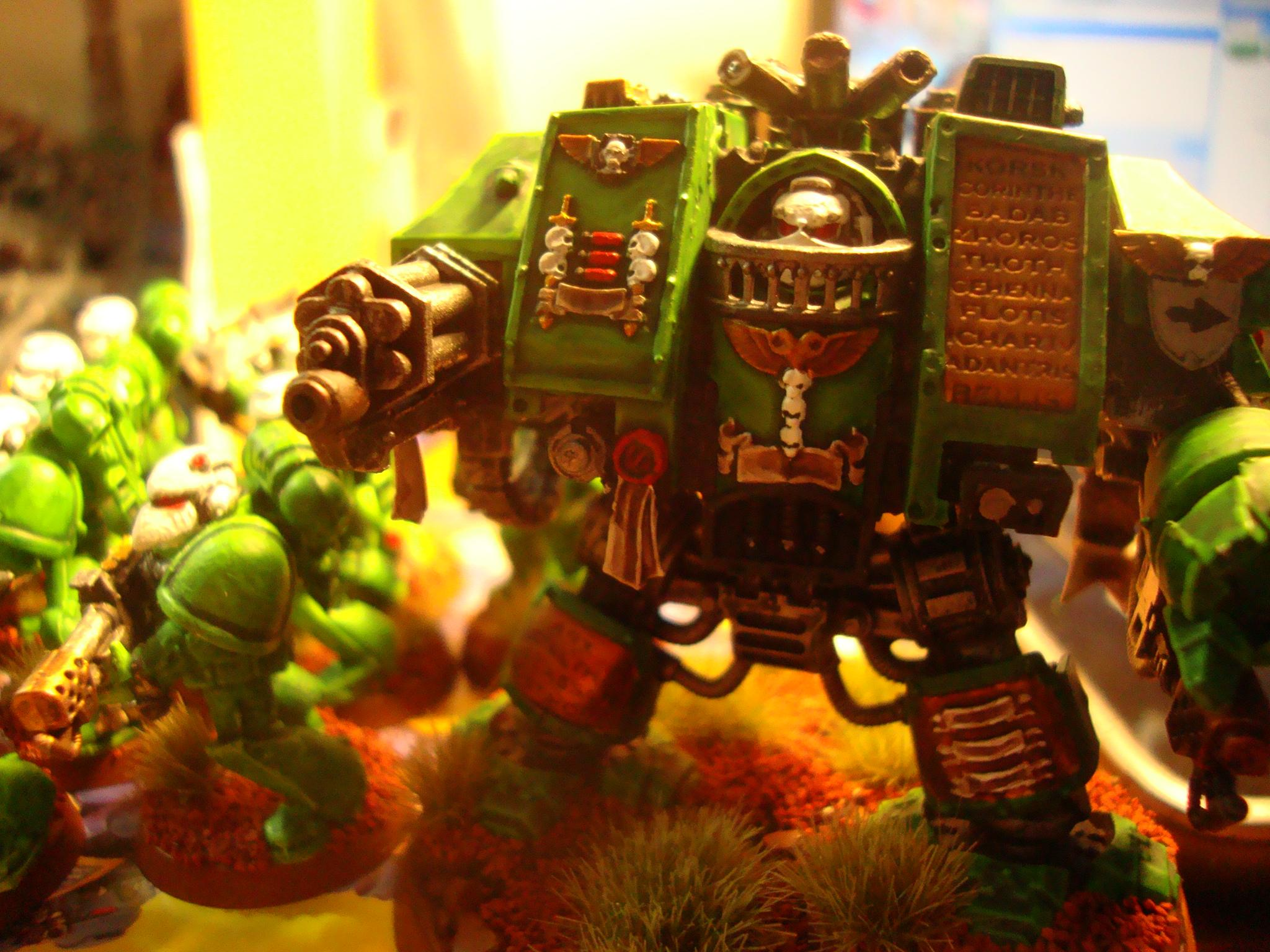 Sons Of Medusa, Space Marines, Venerable Dreadnought