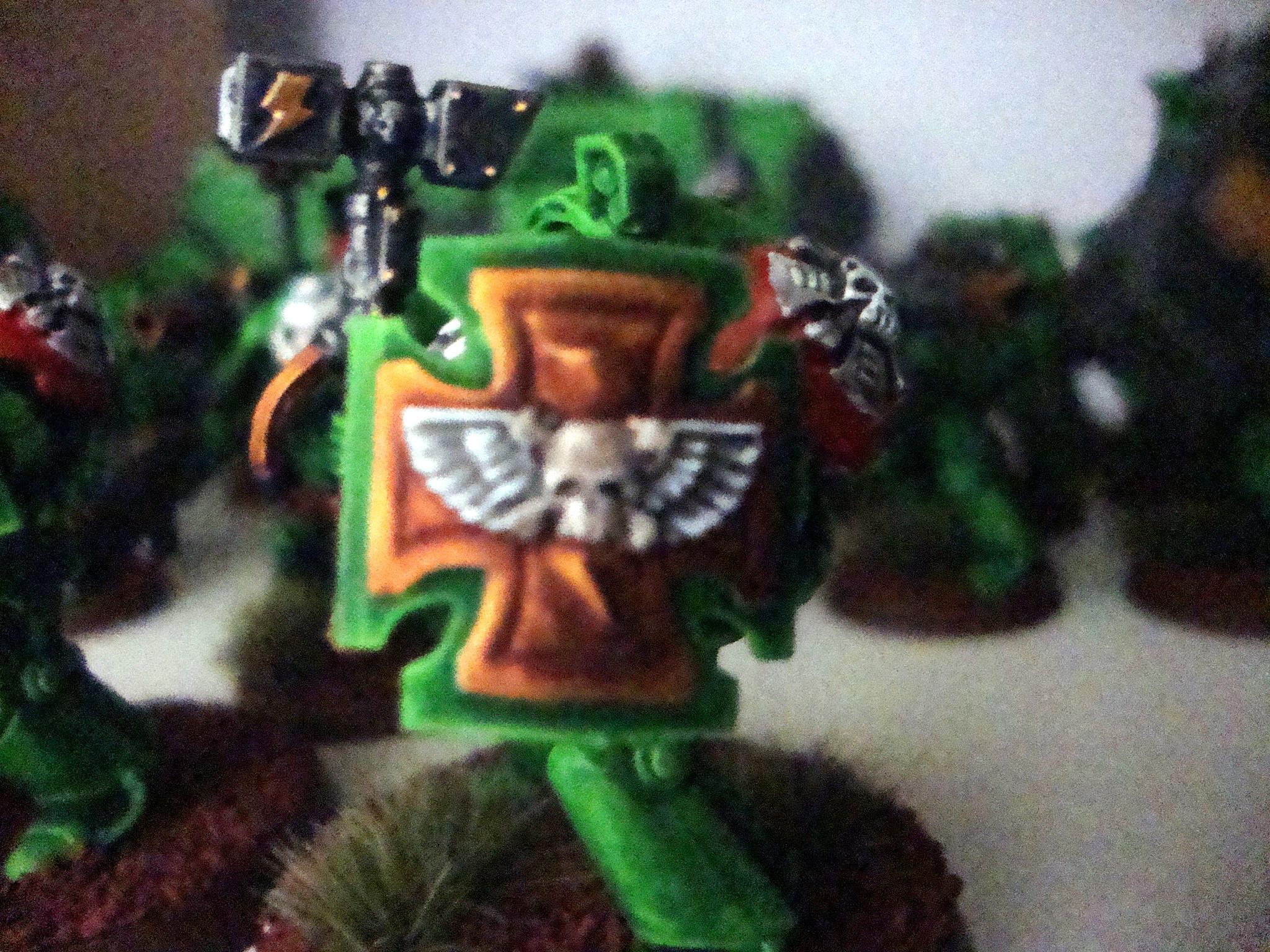 Sons Of Medusa Spaec Marine Terminator Assault Thunder Hammer Storm Shield