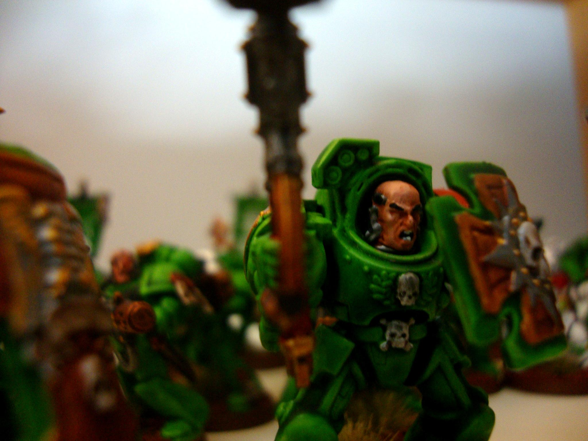 Space Marine Sons Of Medusa Terminator Assault
