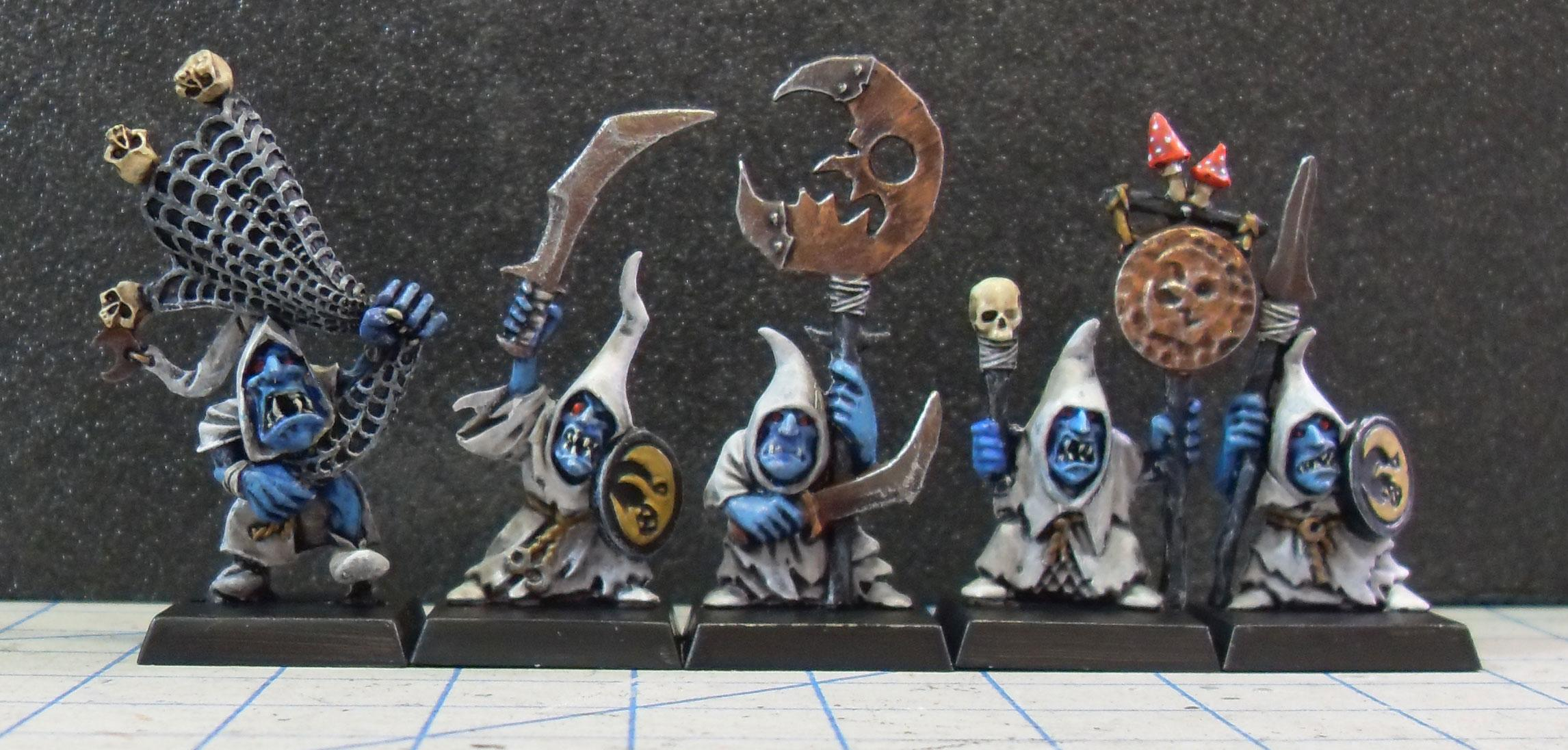Night Goblins, Smurf, Warhammer Fantasy