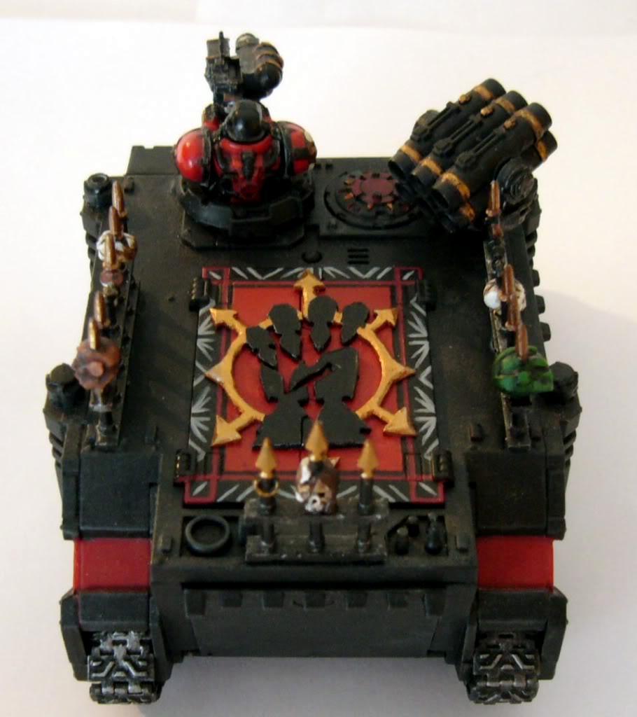 Chaos Space Marines, Red Corsairs, Rhino, Warhammer 40,000