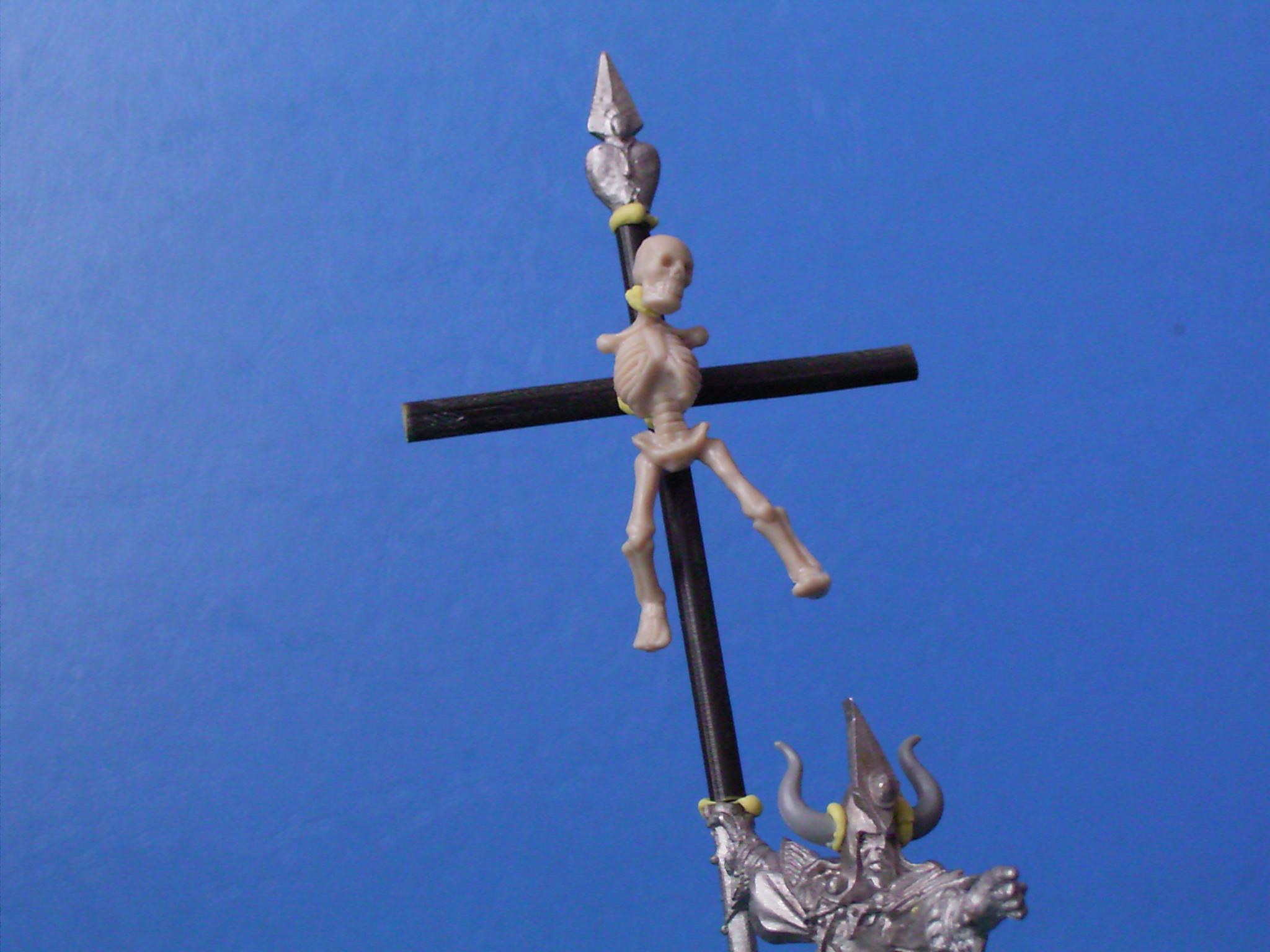 Mutant priest crux close up