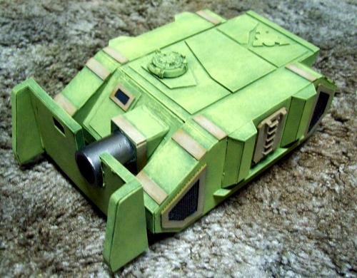 Vehicle, Vindicator, Warhammer 40,000