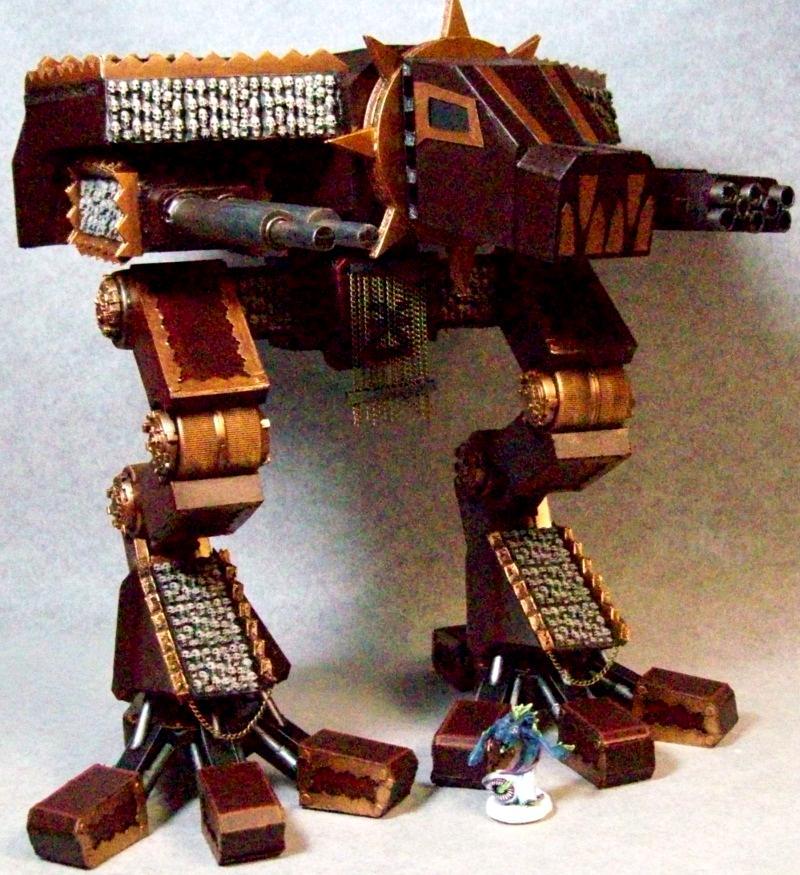 Chaos Warhound Titan, Super Heavy Vehicle, Vehicle, Warhammer 40,000