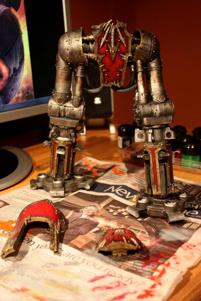 Chaos, Reaver, Titan, Work In Progress