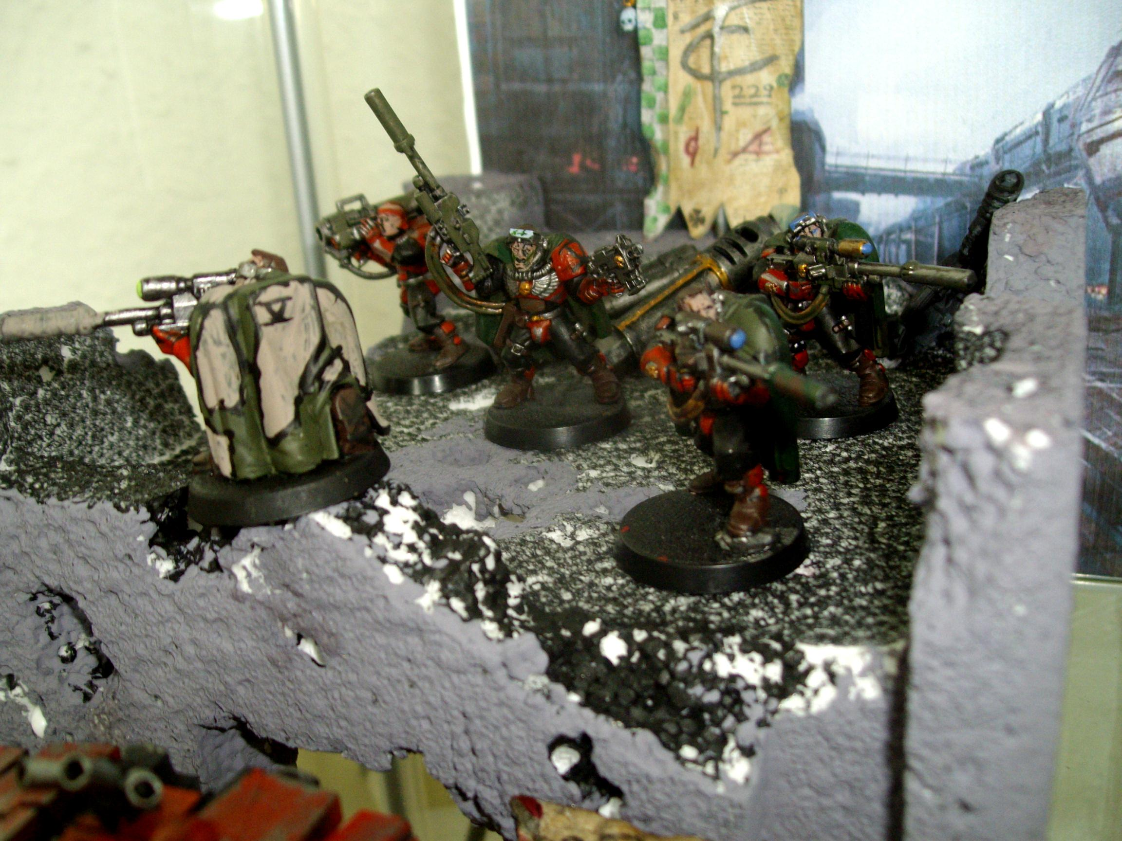 Space Marine 40k, Scout Snipers Space Marines