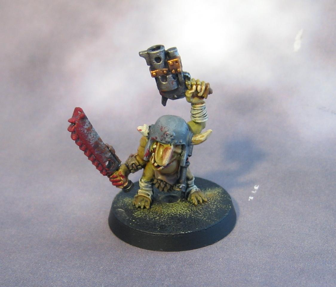 Chainsword, Gretchin, Grots