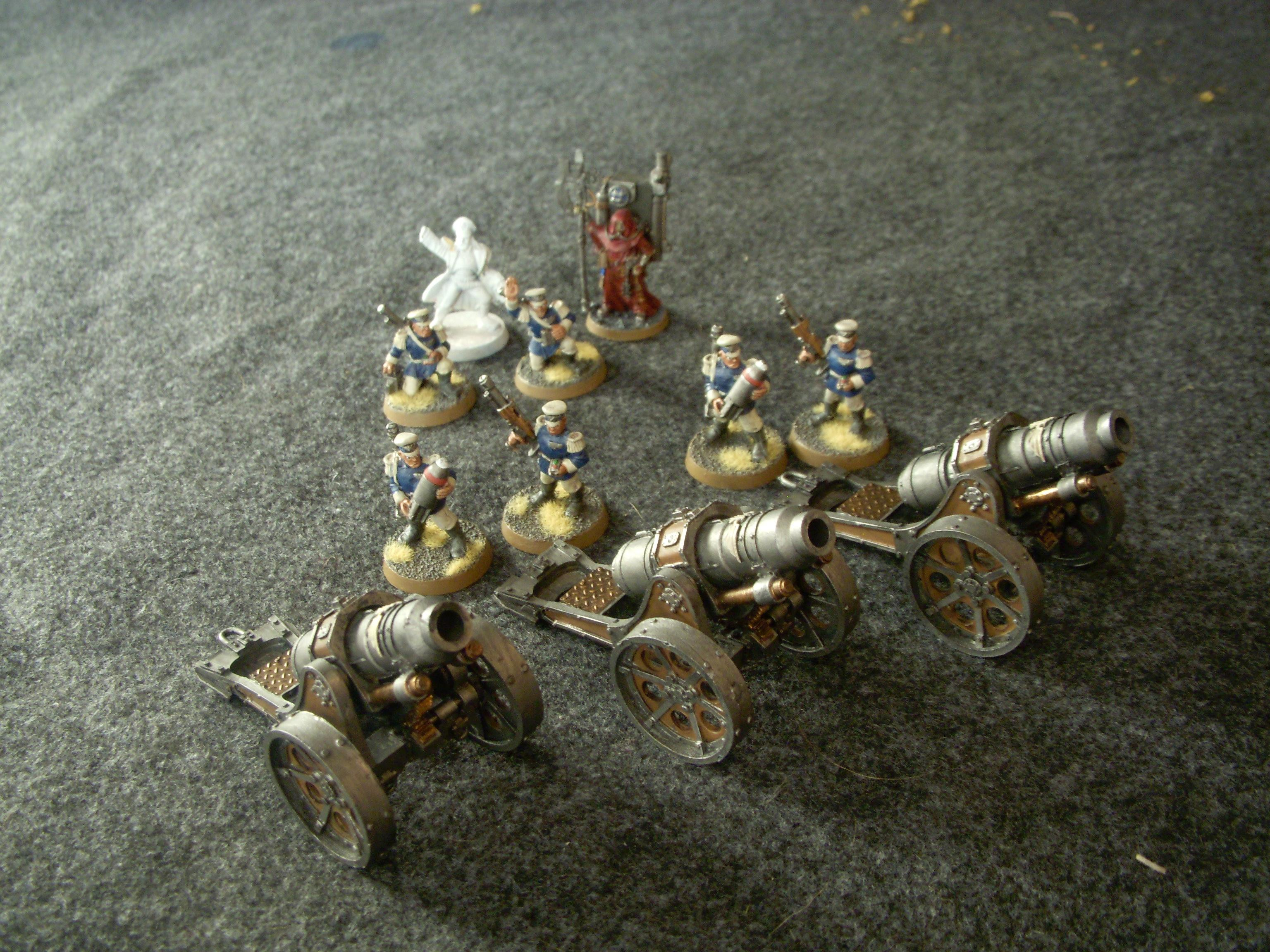 Bad Moon Orks, Imperial Guard Mordian Iron Guard Bad Moon Orks, Mordian Imperial Guard