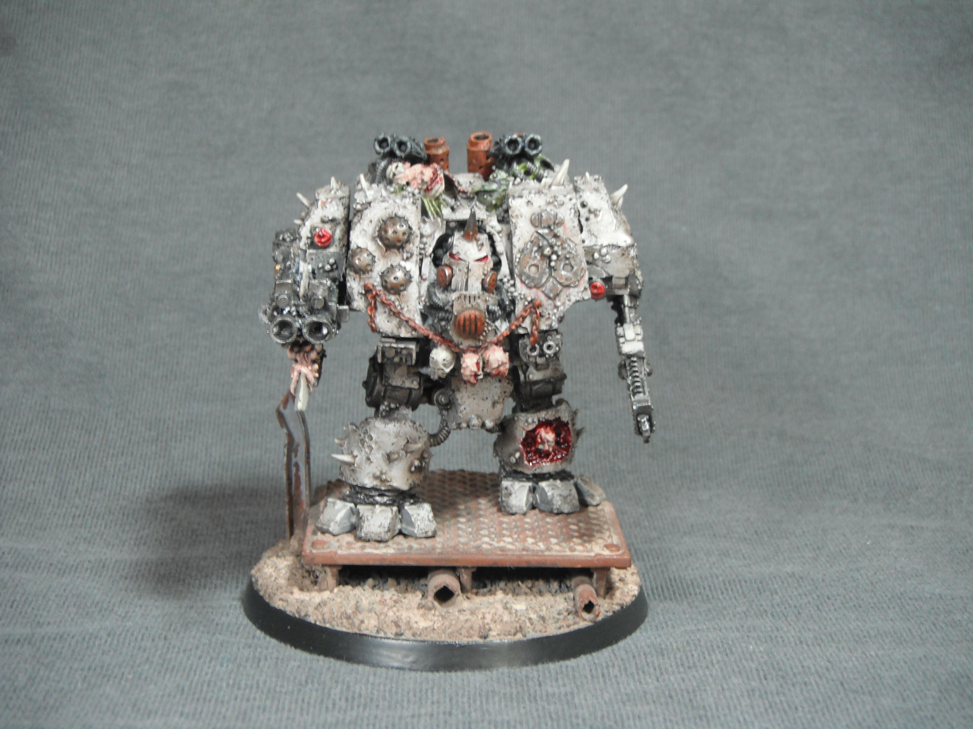 Chaos, Death Guard, Dreadnought, Forge World, Nurgle