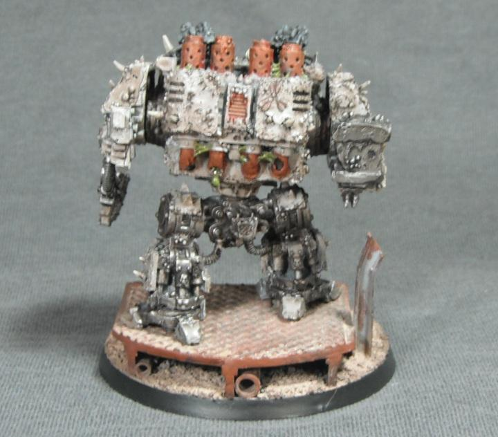 Chaos, Death Guard, Dreadnought, Forge World, Nurgle