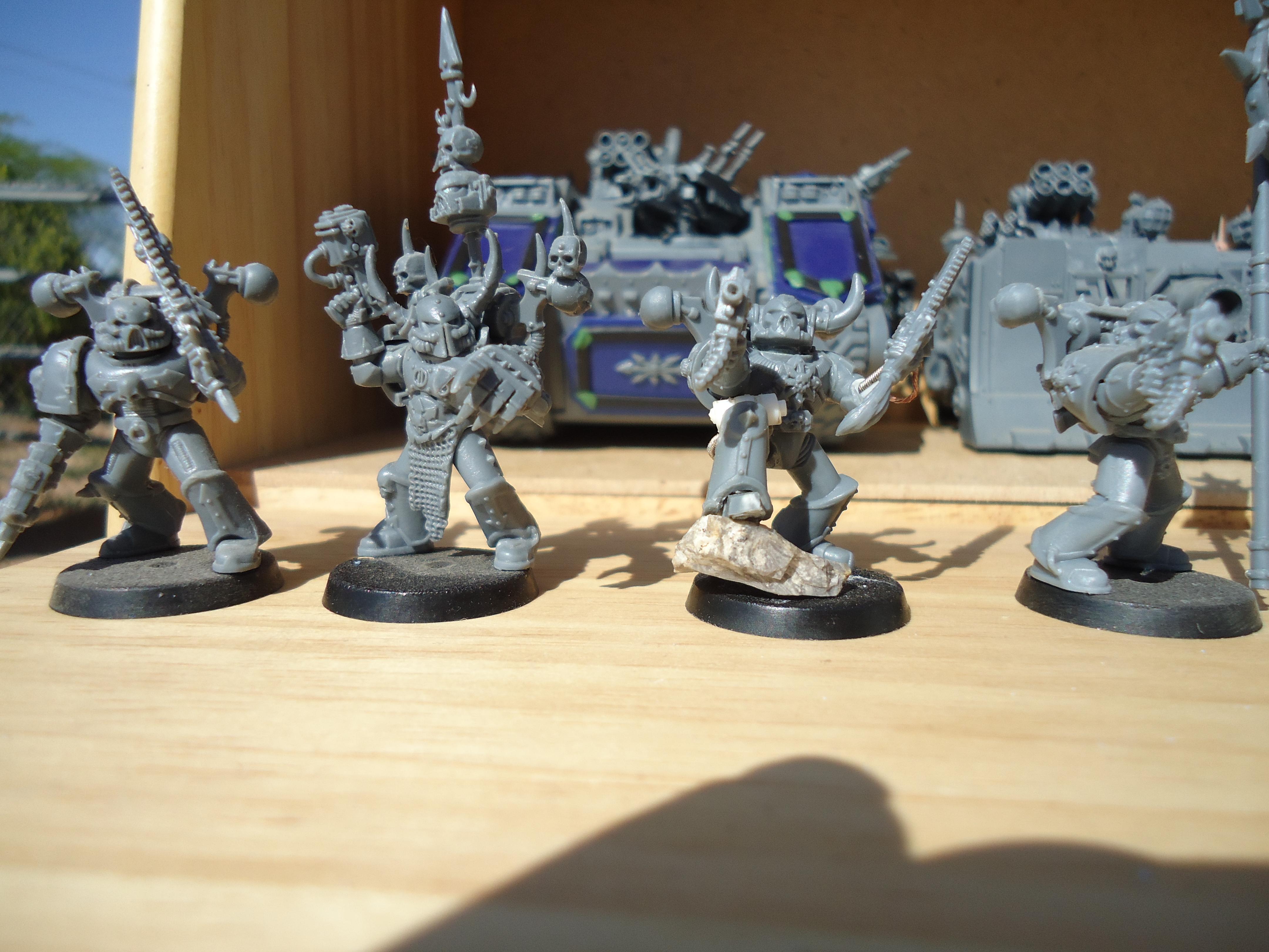 Chaos Marine squad