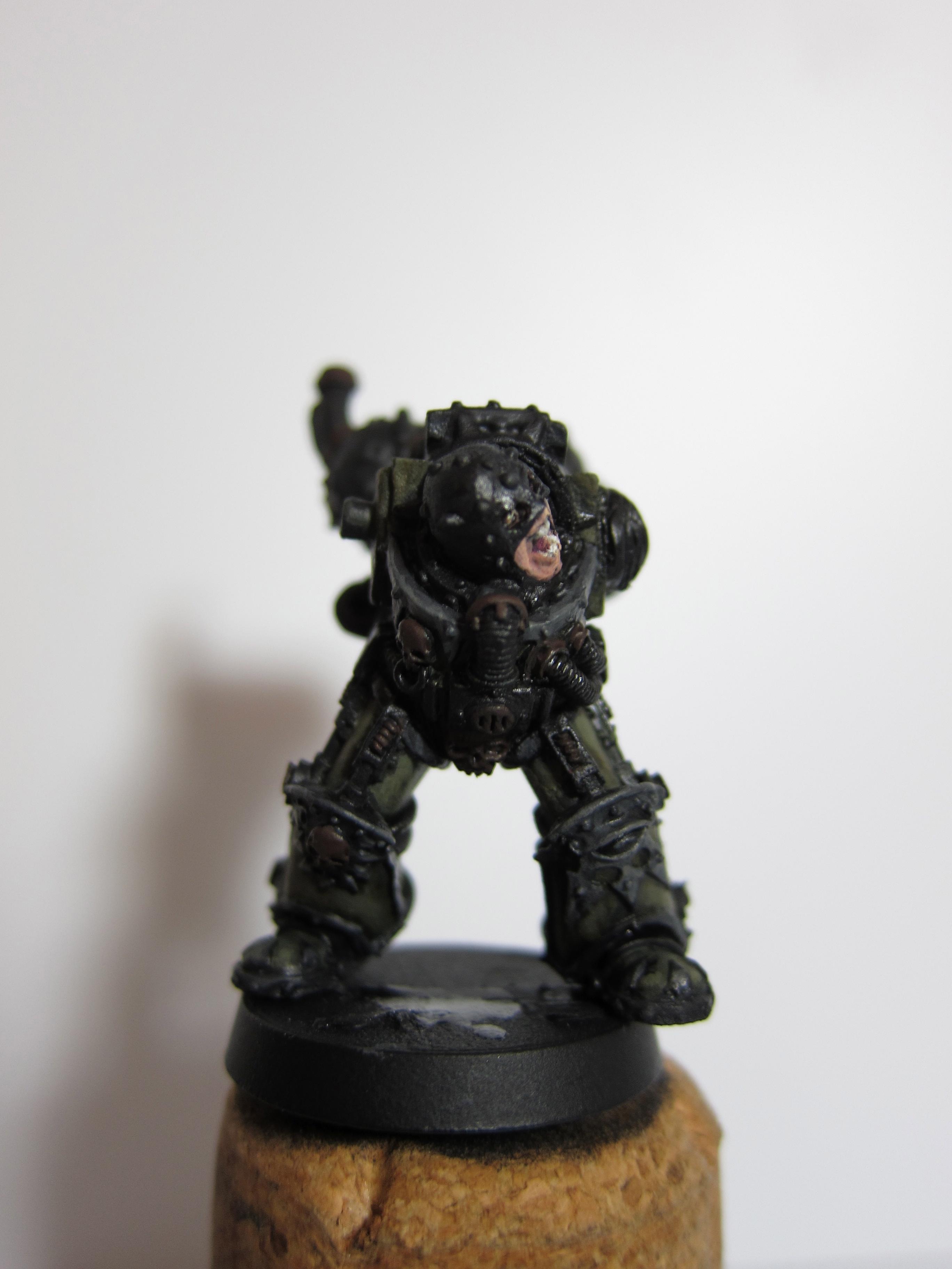 Cawdor, Chaos, Chaos Space Marines, Conversion, Death Guard, Necromunda, Nurgle, Painted, Plasma Cannon, Rust, Skave, Space Marines, Terminator Armor, The Purge, Warhammer 40,000