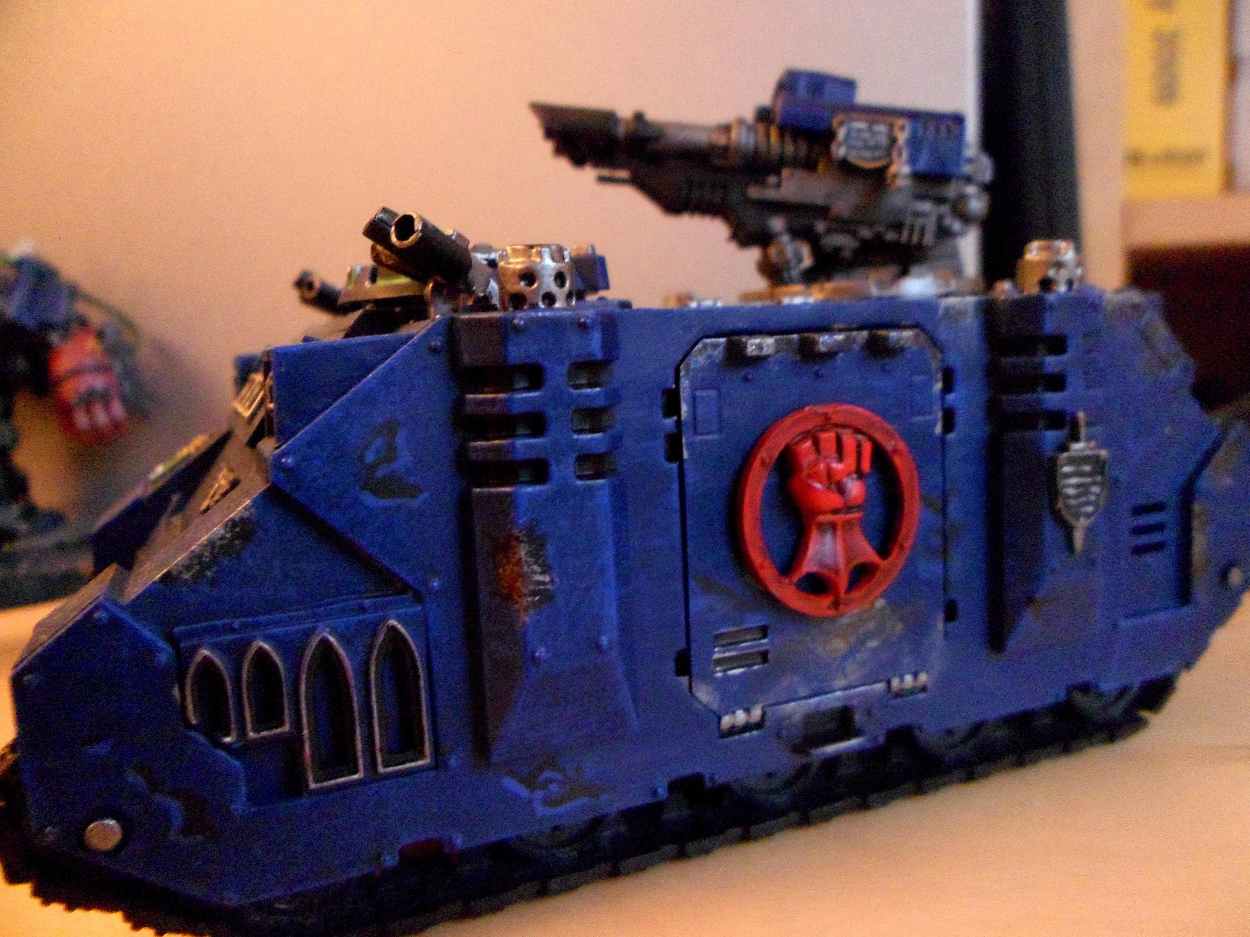 Crimson Fist, Razorback, Space Marines, Warhammer 40,000