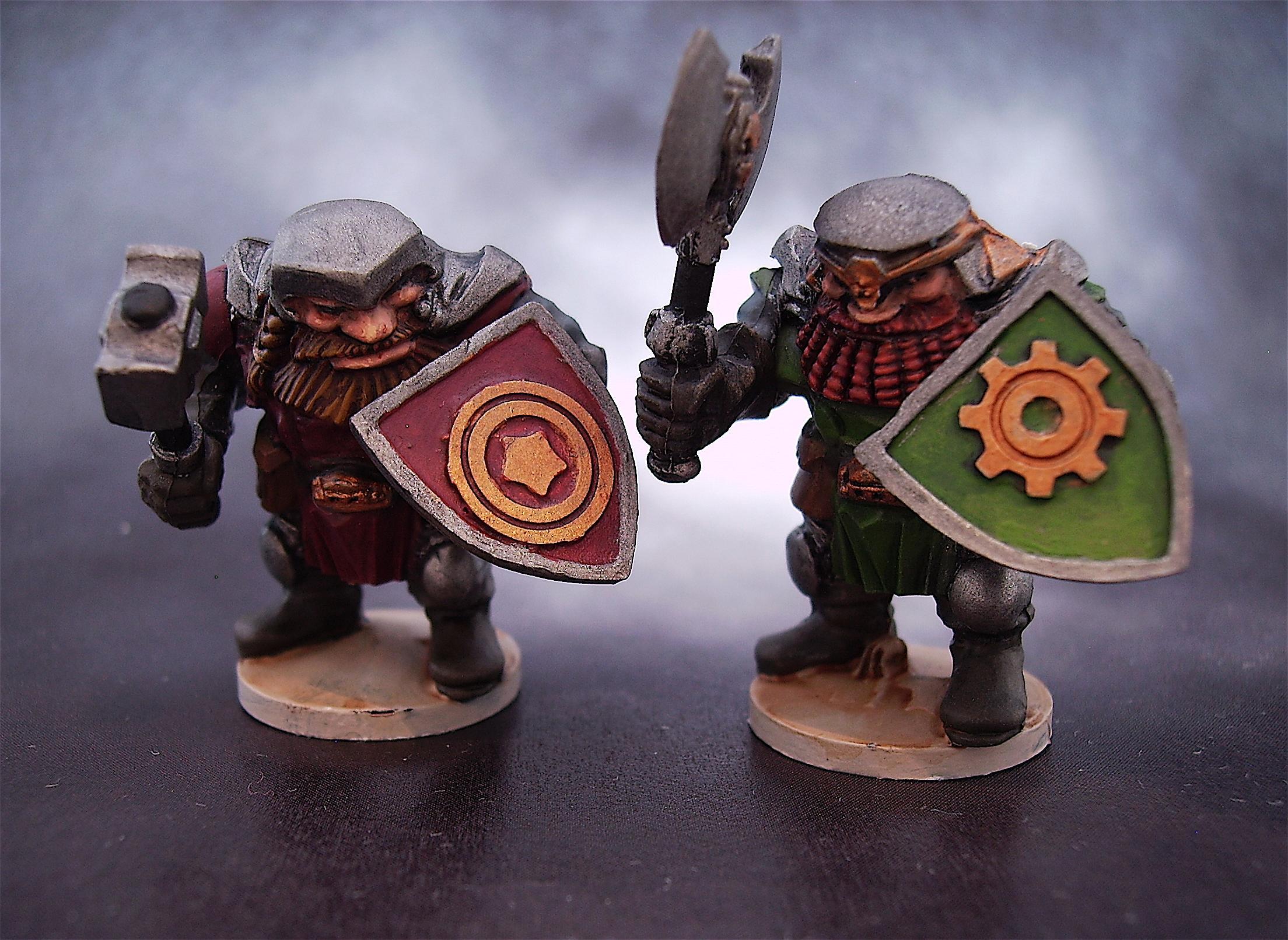 Dwarf's Hold, Dwarfs Hold, Dwarves, Mantic, Skeletons, Skellingtons