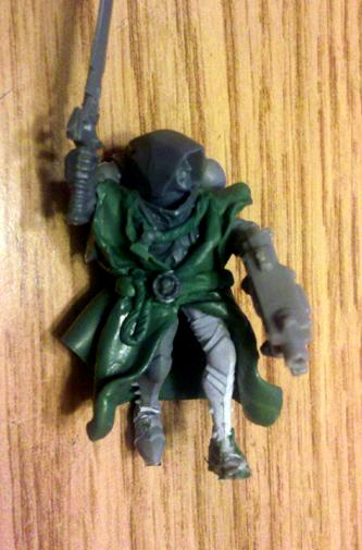 Conversion, Inquisition, Inquisitor, Sculpting, Warhammer 40,000, Witch Hunters