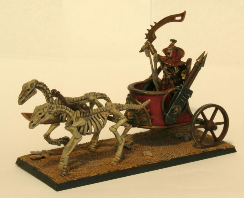 Chariot, Tomb Kings, Warhammer Fantasy - Tomb King on Chariot ...