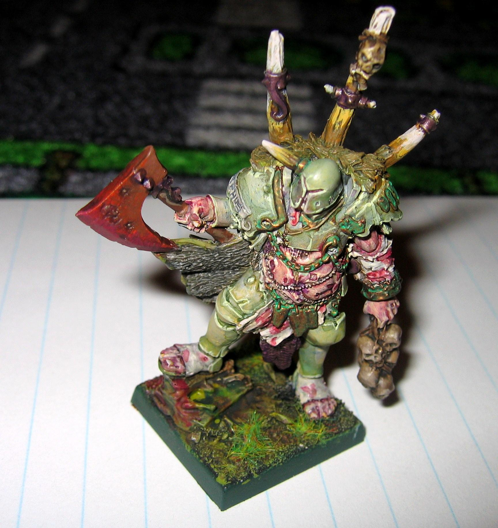 Chaos Lord, Chaos Warrior, Lord, Nurgle, Warrior Of Chaos