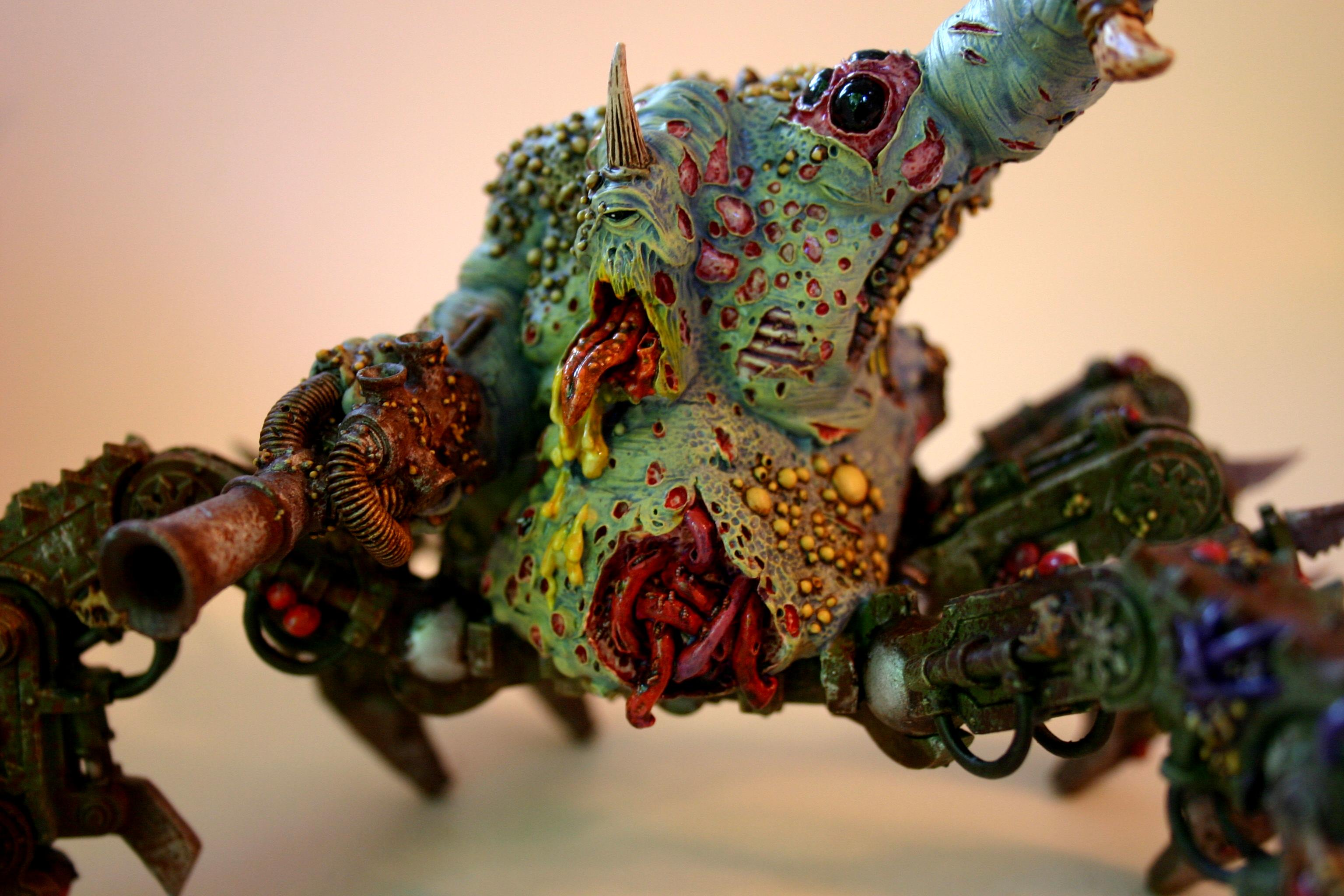 Chaos, Daemon Engine, Defiler, Nurgle, Plague Hulk, Soul Grinder