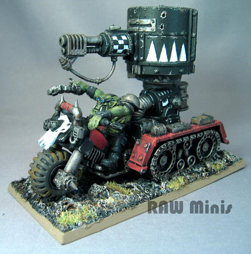 Conversion, Orks, Painting, Vehicle, Warhammer 40,000