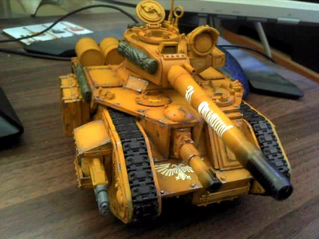 Camouflage, Conversion, Desert, Guard, Imperial, Kitbash, Leman Russ, Tan, Tank, Vanquisher