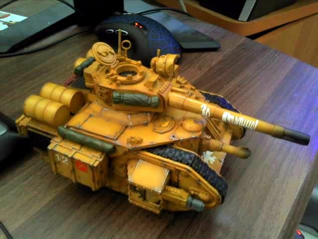 Imperial Guard, Leman Russ, Scratch Build, Tank